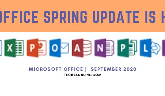 Office September 2020 Updates